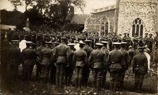 ? Fornham All Saints near Bury St Edmunds. Church & Military Funeral.
