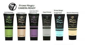 W7  Primer Prime Magic Camera Ready Face Primer Foundation Base