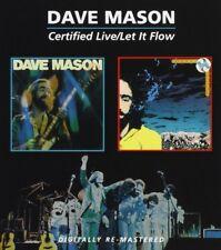 DAVE MASON - CERTIFIED LIVE/LET IT FLOW 2 CD NEU