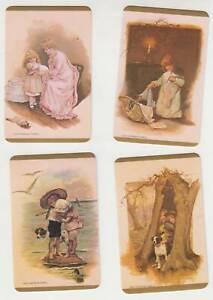 A60  Vintage swap Cards Blank Backs  greythorne  set children nostalgic mint