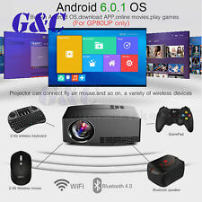 Multimedia 4K WiFi Android Bluetooth 3D LED Projector Home Cinema 10000LM