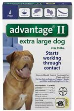 Bayer Advantage II Flea X-Large Dogs 55+ lbs ONE (1) DOSE +READ HERE ABOUT FAKES