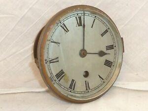 English Clock Movement by Gillett & Johnston Elliott Mantle Parts Repair Spares