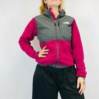 The North Face Denali Polartec Fleece Women's Small Pink Full Zip