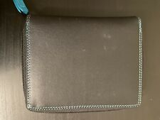 mywalit Small Leather Zip-around Wallet NWT