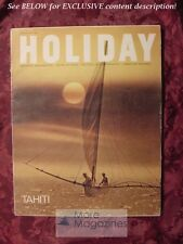 HOLIDAY February 1967 TAHITI WASHINGTON GIBRALTAR CHILE ANTHONY BURGESS