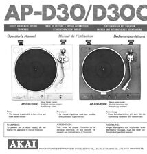 s l225 akai turntable in manuals & resources ebay Basic Electrical Wiring Diagrams at gsmx.co