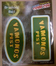 """BREAKING BAD"" VAMONOS PEST VAN WINDOW DECAL SET (2) NYCC 2014"