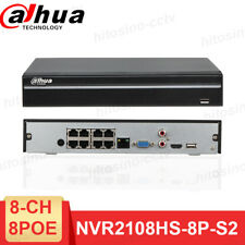 Dahua NVR 8 Channel 8 PoE 80Mbps H.264 Security CCTV Network Video Recorder
