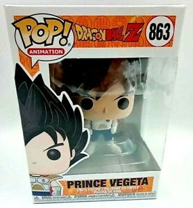 FIGURINE FUNKO POP Dragon ball Z N° 863 PRINCE VEGETA