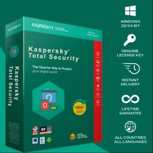 Kaspersky Total Security Internet Security 2021 1PC/ 1 Year