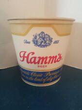 (Vtg) 1956 Hamms Beer ice bucket bottles cans bar man cave game room mn