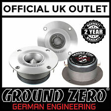 Ground Zero GZCTX3500X-S 4 Inch Single Aluminium Bullet Car Speaker Horn Tweeter