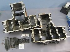 1982 HONDA CB650SC NIGHTHAWK CB 650 ENGINE TRANSMISSION CRANKCASE CASES