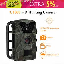 Boblov 1080P HD 12MP Hunting Trail Camera Night Vision IR LED Motion Detection