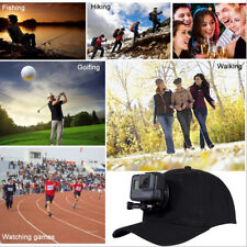 Outdoors Sun Hat Baseball Cap Buckle Mount For GoPro Sessions Action Camera RAS