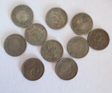 10 Mexico 5 Centavos 1937-1940 Coin Lot