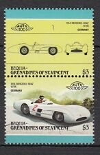 H140) Timbres Neufs MNH (Mercedes-Benz W196) GRENADINES/CARS-AUTOMOBILES