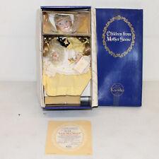 Ashton Drake Knowles Little Miss Muffet Porcelain Doll w/ Box and CoA
