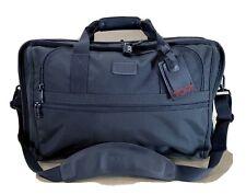"""Used TUMI Blk Ballistic Nylon 22"""" Expandable Carry On Garment Bag Duffle 2677D3"""