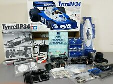 Partial Built Tamiya R/C 1/10 Tyrrell P34 6 Wheeler F-1 Racing Car Servo Battery