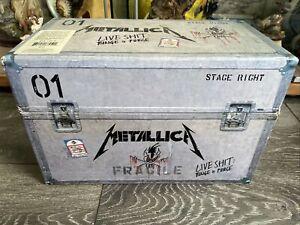 Metallica Live Shit Binge and Purge VHS 1993 Collectors Box Set Complete