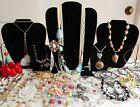 50+Pcs+Vintage+To+Now+Ladies+Woman%27s+Estate+Costume+Jewelry+%235