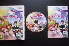 JEU Nintendo Wii : HELLO KITTY SEASONS (Namco Bandai COMPLET envoi suivi)