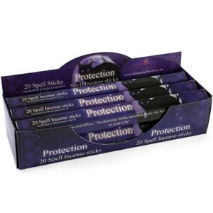 New Elements Protection Spell Incense Sticks by Lisa Parker Pack of 20 sticks