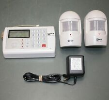 Mace Security System 80355, with (2) Motion Sensors 80357, Phone-Connected Alarm