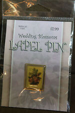 Lapel Pin Post office Wedding Blossoms 37cent Lapel pin