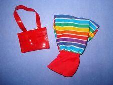 Vtg Barbie SKIPPER 80s Doll Clothes SO ACTIVE FASHIONS Set 1985 7978