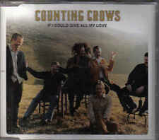 Counting Crows-If I Could Give All My Love Promo cd single