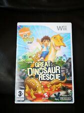 Go Diego Go! gran dinosaurio Rescue (Wii) PEGI 3+ aventura rápido y gratuito P & P