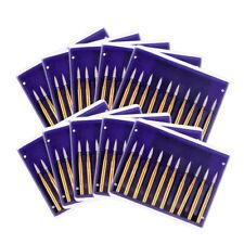 AZDENT Dental Burs FG7902 Tungsten Carbide  Friction Grip For High Speed 10Box