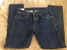 Wallace & Barnes Indigo Dyed Selvedge Slim Denim Jeans 30w X 30L Perfect!!