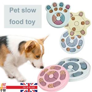 Dog Puzzle Toy Dog Feeding Dispensing Feeder Bowl Training Toys Pet Stuffs UK