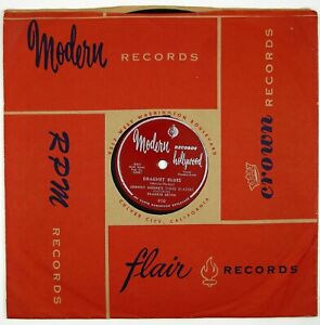 JOHNNY MOORE'S THREE BLAZERS Dragnet Blues/Playing..10IN 1953 BLUES LISTEN!!!!!!