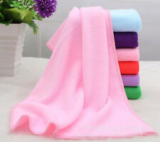 Big Absorbent Microfiber Hair Drying Bath Beach Towel Washcloth Swimwear Shower