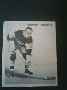 1933 World Wide Gum Ice Kings Hockey Howie Morenz #36