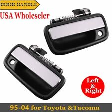 Fit 95-04 Toyota Tacoma Outer Door Handles Front Right+Front Left Chrome 2 PCS