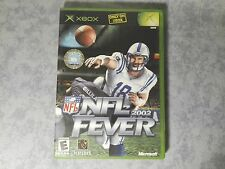 NFL 2002 FEVER - MICROSOFT XBOX ORIGINALE CLASSIC - NTSC USA US - COMPLETO