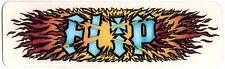 FLIP Skateboard Sticker skate snow surf Board BMX Chitarra Van Auto sk8 VECCHIO 2002
