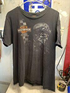 Harley Davidson Jamestown California Xl Black  T Shirt Genuine Speed Gold Miner