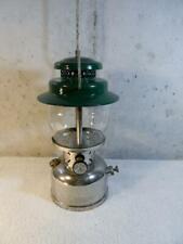 New listing Vintage 1957 Coleman Kerosene Camping Lantern Model 237 Nickel 10 57 ~BEAUTY~