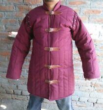 Medieval Thick Padded Gambeson Coat Aketon Jacket Armor Renaissance