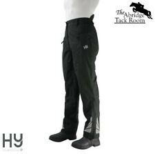 Waterproof Reflective Over Trousers for Riding by HyFASHION  – Black 5 sizes NEW