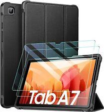 Para Samsung Galaxy Tab A7 10.4 (2020) Funda & Vidrio Protector de pantalla T500