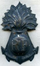 WWI Era French Colonial Helmet Plate Badge