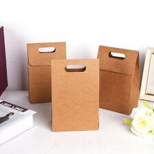 15 Stück Kraftpapiertüten Geschenktüten Bodenbeutel Kraftpapierbeutel Braun